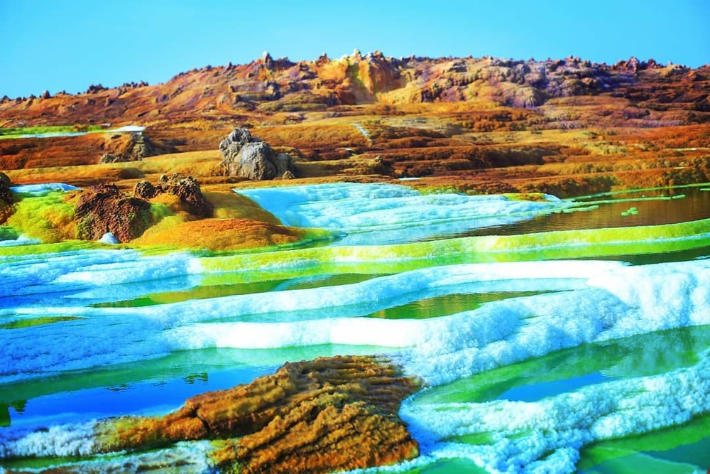 dallol ethiopia hottest place earth
