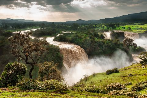 The Blue Nile Falls  known as Tis Abay