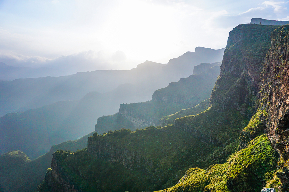 Simien Mountains, the roof of Africa