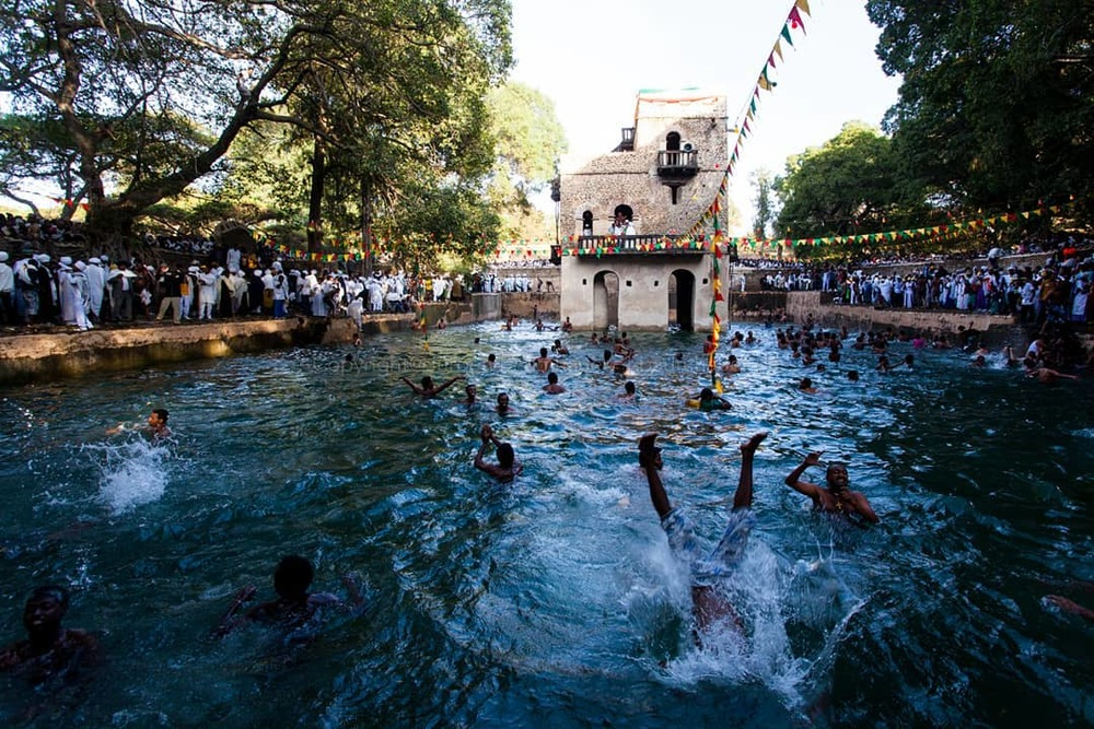 Timket holiday Gondar